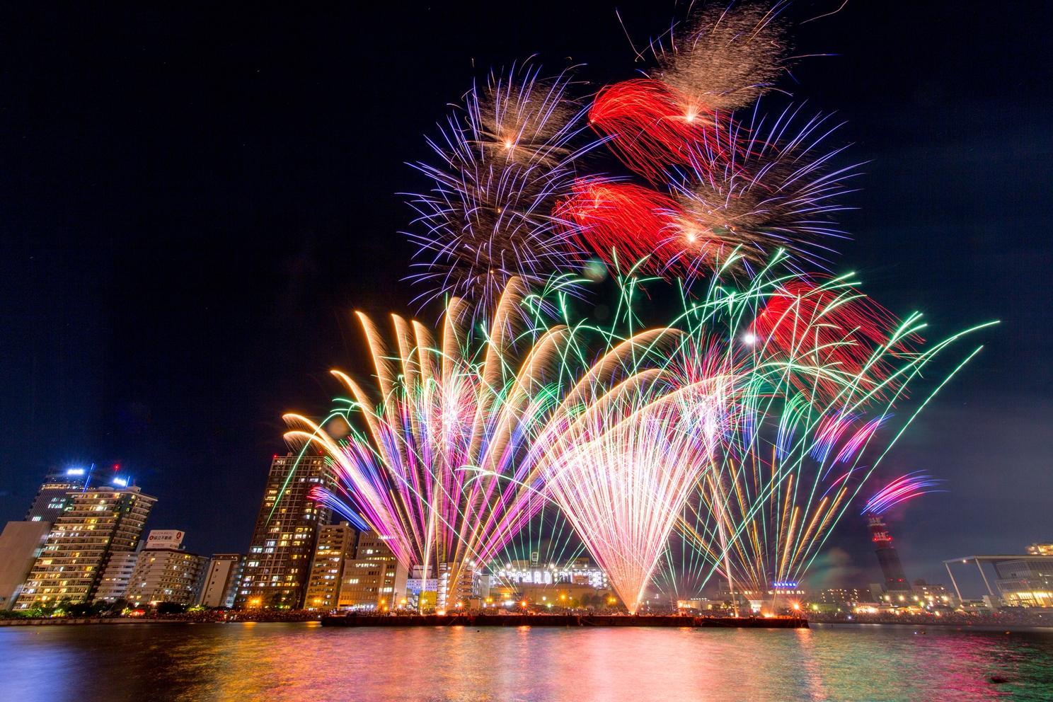 新潟の花火大会2018