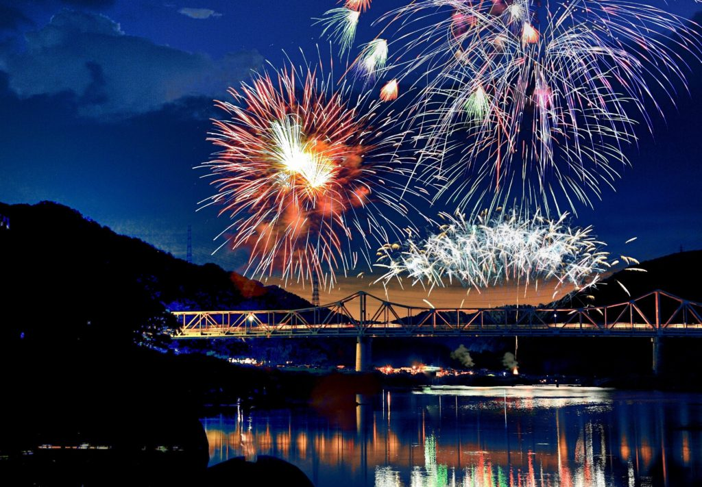 京都の花火大会・イベント日程2018