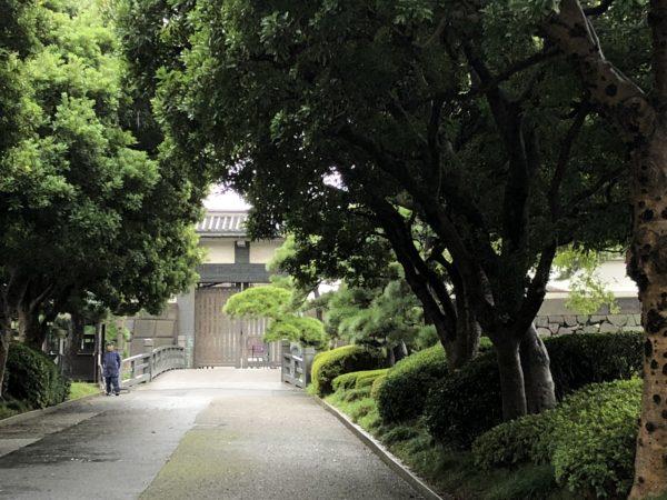 江戸城跡 北桔橋門