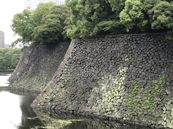江戸城跡 石垣