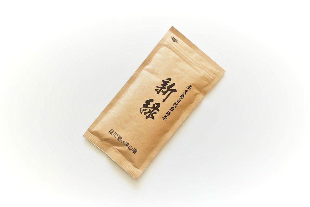 屋久島自然栽培茶「新緑」100g×3