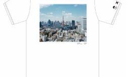 石川直樹×ビームス『日本列島』プリントTシャツ