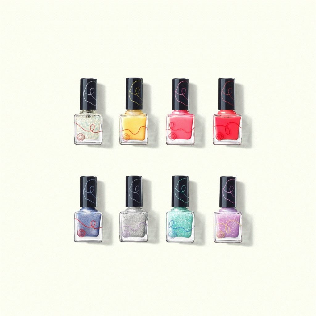 SHISEIDO PICO, A Mini Collection, releases nail polish & Liquid Rouge