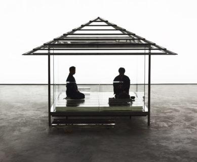 国立新美術館 特別公開 「吉岡徳仁 ガラスの茶室 - 光庵」