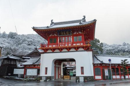 国の重要文化財「武雄温泉楼門」